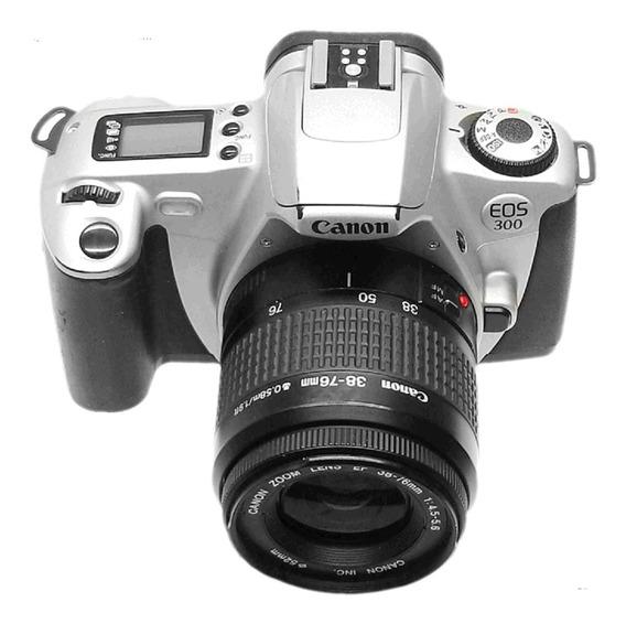 Camera Canon Eos 300 Lentes35-80+90-300m+maleta