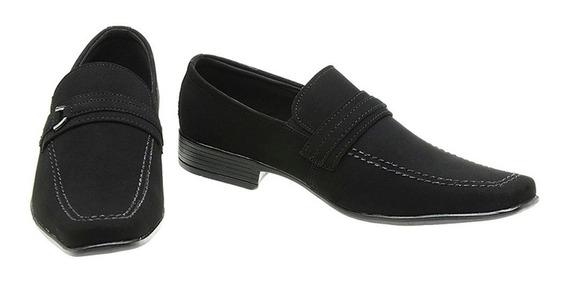 Sapato Social Masculino Couro Nobuck Sanlorenzo Cf