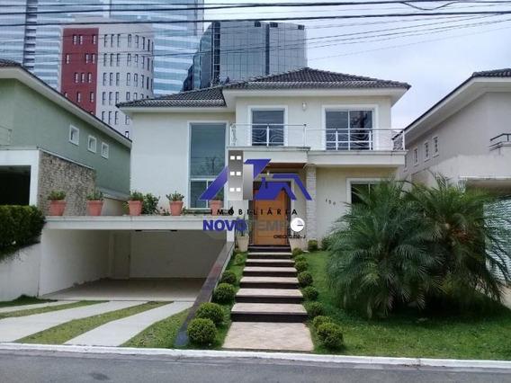 Casa Em Barueri Com 4 Dormitórios Para Alugar, 490 M² Por R$ 6.500/mês - Ca0381