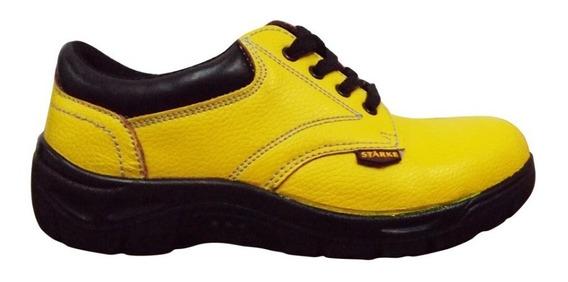 Zapato Cuero De Seguridad Y Trabajo Con Y Sin Puntera Acero