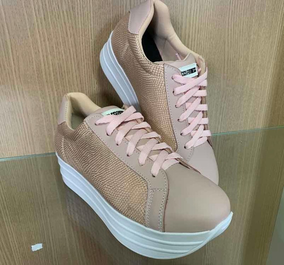 Tênis Colcci Sapatênis Couro - Sneaker Feminino