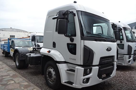 Ford Cargo 1729 / 37 4x2 Sc Amt 2019 0km Cab. Dor // Forcam