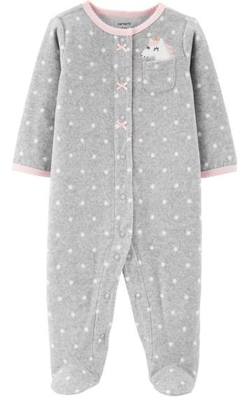 Pijama Enterito Polar Con Cierre Carters Original De Usa