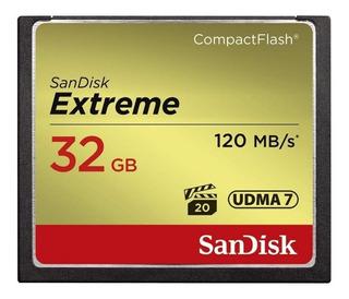 Cartão de memória SanDisk SDCFXSB-032G-G46 Extreme 32GB