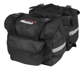 Alforge / Mala Lateral Esportivo Viagem Moto Nylon 19 Litros