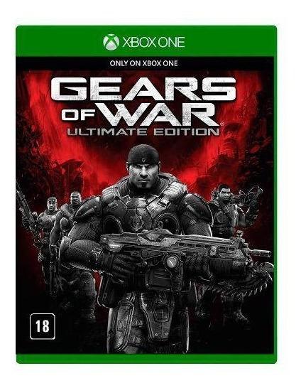 Jogo Xbox One Gears Of War Ultimate Edition Pt-br (lacrado)