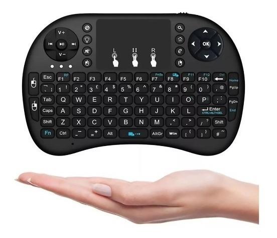Mini Teclado E Touch Pad Wireless