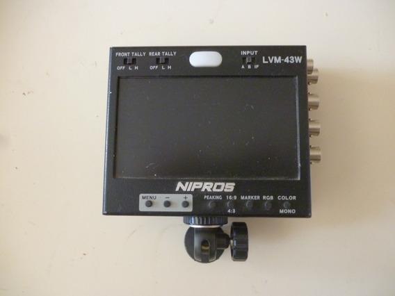 Monitor Nipros Lvm-43w 4.3