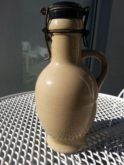 Antigua Botella Cerveza Tapa Negra Sello 1l Y Dsw