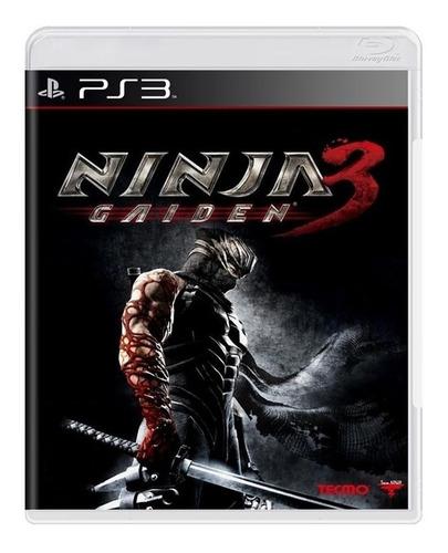 Ninja Gaiden 3 - Ps3 - Midia Fisica - Jogo Novo