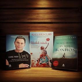 Livros Felicidade Roubada Motivação Viver Seja Livre P/ Voar