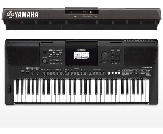 Teclado Arranjador Yamaha Psr-e463 Com Fonte Bivolt E463