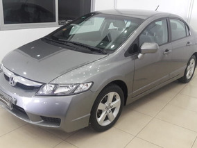 Honda Civic Lxs 1.8 2010 Gris 4 Puertas Financio! Impecable