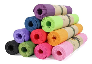 Sport Maniac Colchonetas Mat Ecologica Yoga Gym Eco Friendly