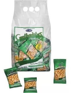 Amendoim Torrado Grelhaditos Santa Helena Pacote C/ 60 Uni