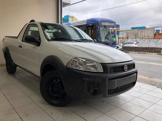 Fiat Strada 2018 Flex Unico Dono / Osasco