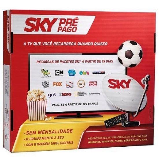 Receptor Digital Sky Pré-pago Flex Sd