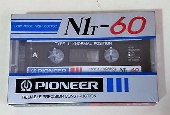 Fita K7 Cassete Pioneer N1t-60 | Type I | Normal | Virgem