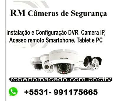 Câmeras Ip, Dvr, Cftv Faço Upgrade Analógico / Digital