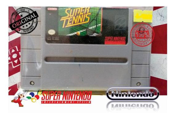 Super Tennis Original Snes Super Nintendo