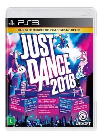 Just Dance 2018 - Ps3 - Mídia Física, Original E Lacrada