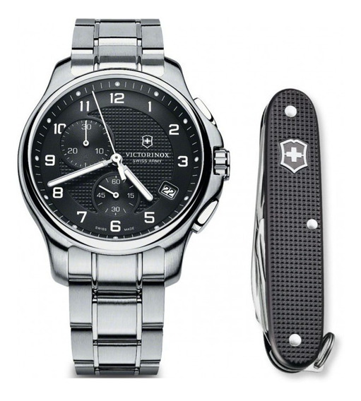Relógio Victorinox Swiss Army Officer Quartz 241592.1