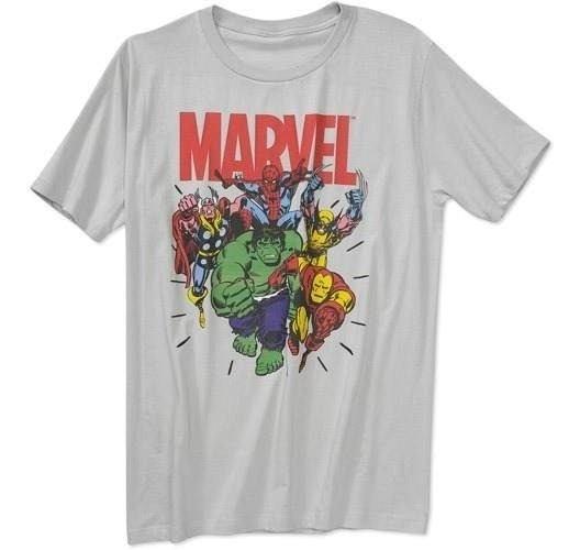 Remeras Superheroes Marvel Original Talles M Xl Importadas!