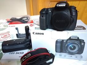Câmera Eos 60d - Corpo + Bateria + Carregador + Grip