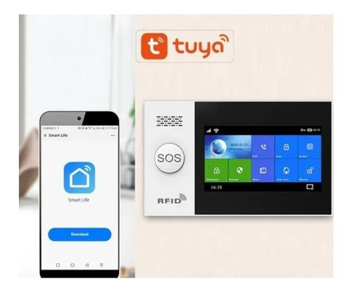 Alarma  Gsm/wifi Táctil Completa 3g En Español + App