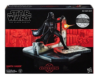 Star Wars Serie Negra Estatuilla De Darth Vader Con Luz Mal