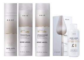 Braé Bond Angel Sh + Ph Acidificante + Leaven-in + Passo 3