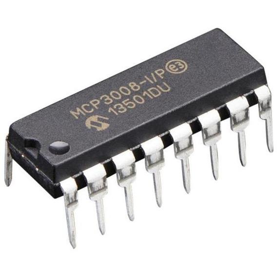 Mcp3008 - Conversor Analógico/digital De 10-bit (5 Peças)