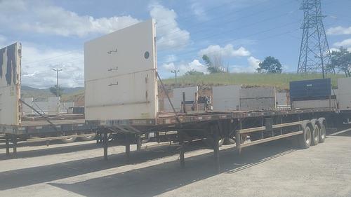 Randon Porta Container Carga Seca - 5895