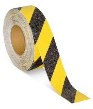 Cinta Antideslizante Negra/amarilla 50mm X 18,3 Metros