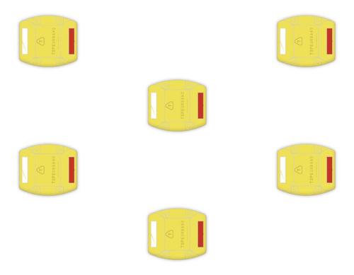 Imagen 1 de 3 de Reductores 3 Lineas Topes De Estacionamiento Lomo De Burro