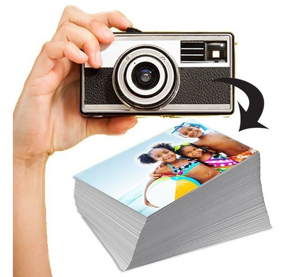 Revelação De 225 Fotos 10x15 + 1 Álbum Para 200 Fotos
