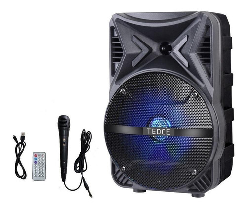 Caixa de som Tedge TK-86 portátil com bluetooth