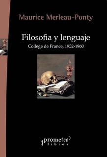 Filosofia Y Lenguaje - Maurice Merleau-ponty