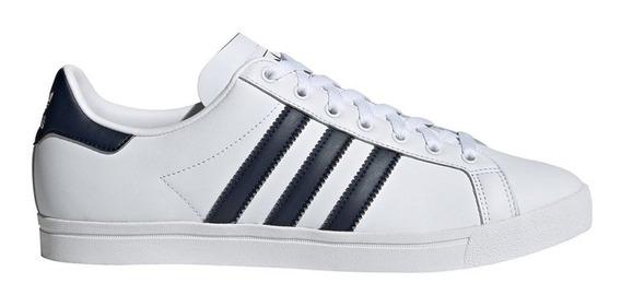 Zapatillas adidas Coast Star Blanco/azul - Corner Deportes