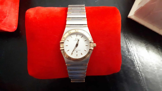 Omega Constellation Dama Original Con Caja Y Documentacion