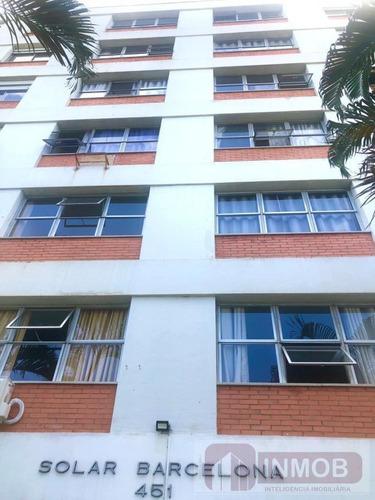 Apartamento Para Venda Em Taubaté, Centro, 3 Dormitórios, 1 Suíte, 1 Banheiro, 1 Vaga - Ap0594_1-1823273