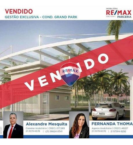 Imagem 1 de 10 de Terreno À Venda, 252 M² Por R$ 180.000,00 - Guaratiba - Rio De Janeiro/rj - Te0065