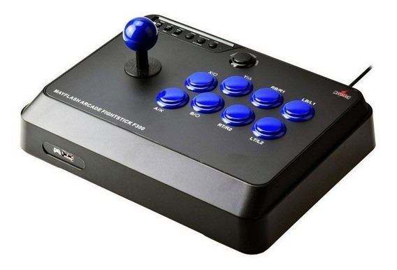 Control Arcade Fight Stick F300 Juegos De Pelea Nuevo