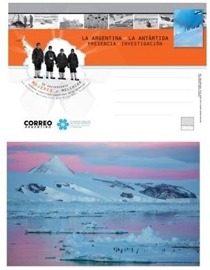 Argentina 2018 Tarjeta Postal Antartida Oficial Del Correo