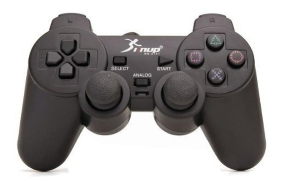 Controle joystick Knup NS-2121 preto