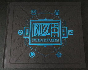 Blizzcon 2018 Goody Bag - Livro The Blizzcon Book