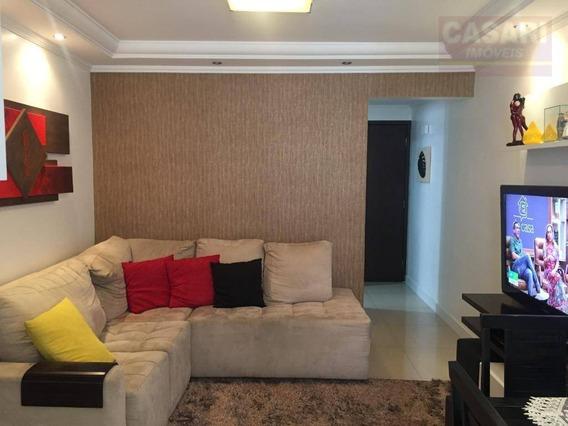 Apartamento Com 3 Dormitórios À Venda, 63 M² - Baeta Neves - São Bernardo Do Campo/sp - Ap62460