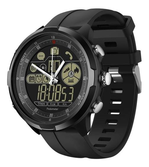 Relógio Masculino Zeblaze Vibe 4 Ip68 Inteligente Safira