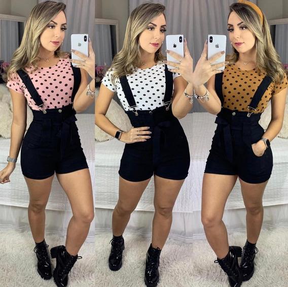 Macaquinho Macacão Feminino Rsl