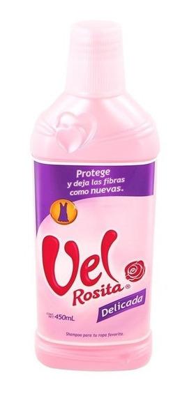 Detergente Liquido Para Ropa Vel Rosita Delicada 450 Ml